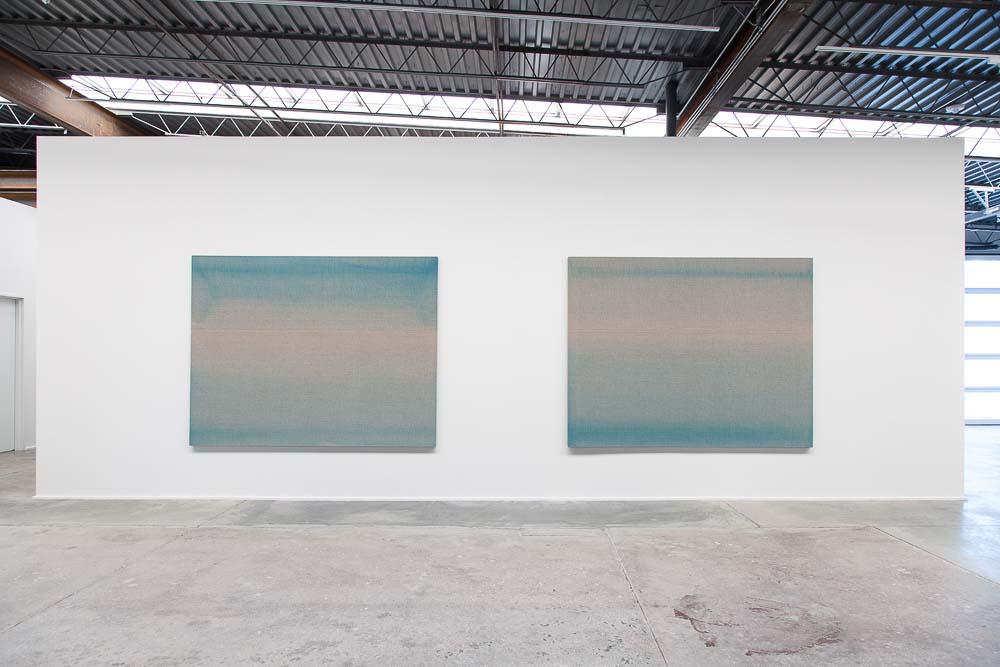 Agathe de Bailliencourt Installation view at exhibition MARFA