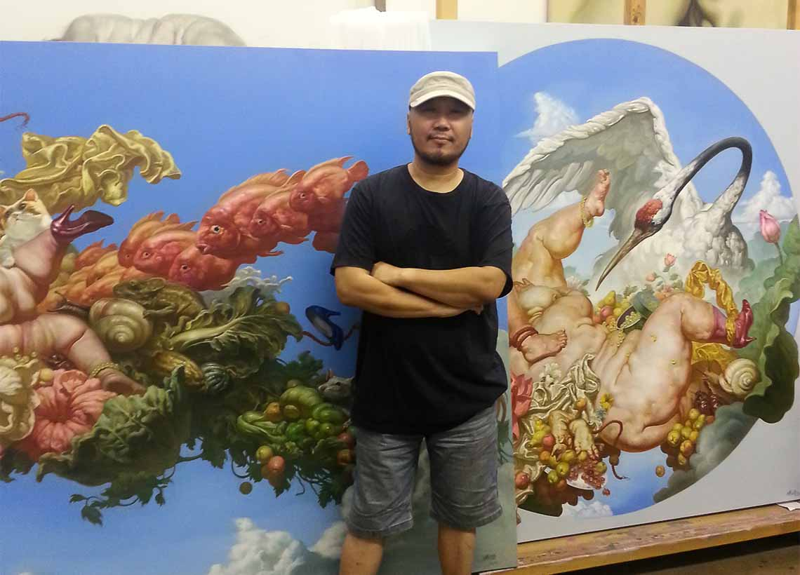 INTERVIEW WITH ARTIST FU LEI