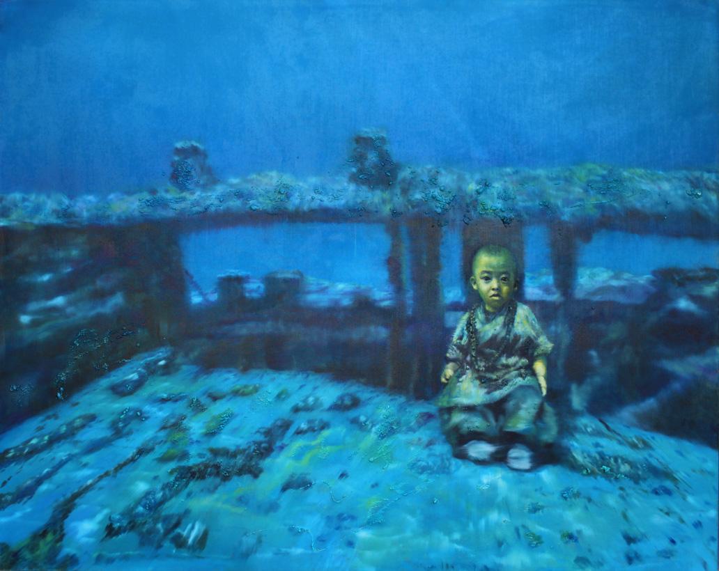 Selfportrait Underwater