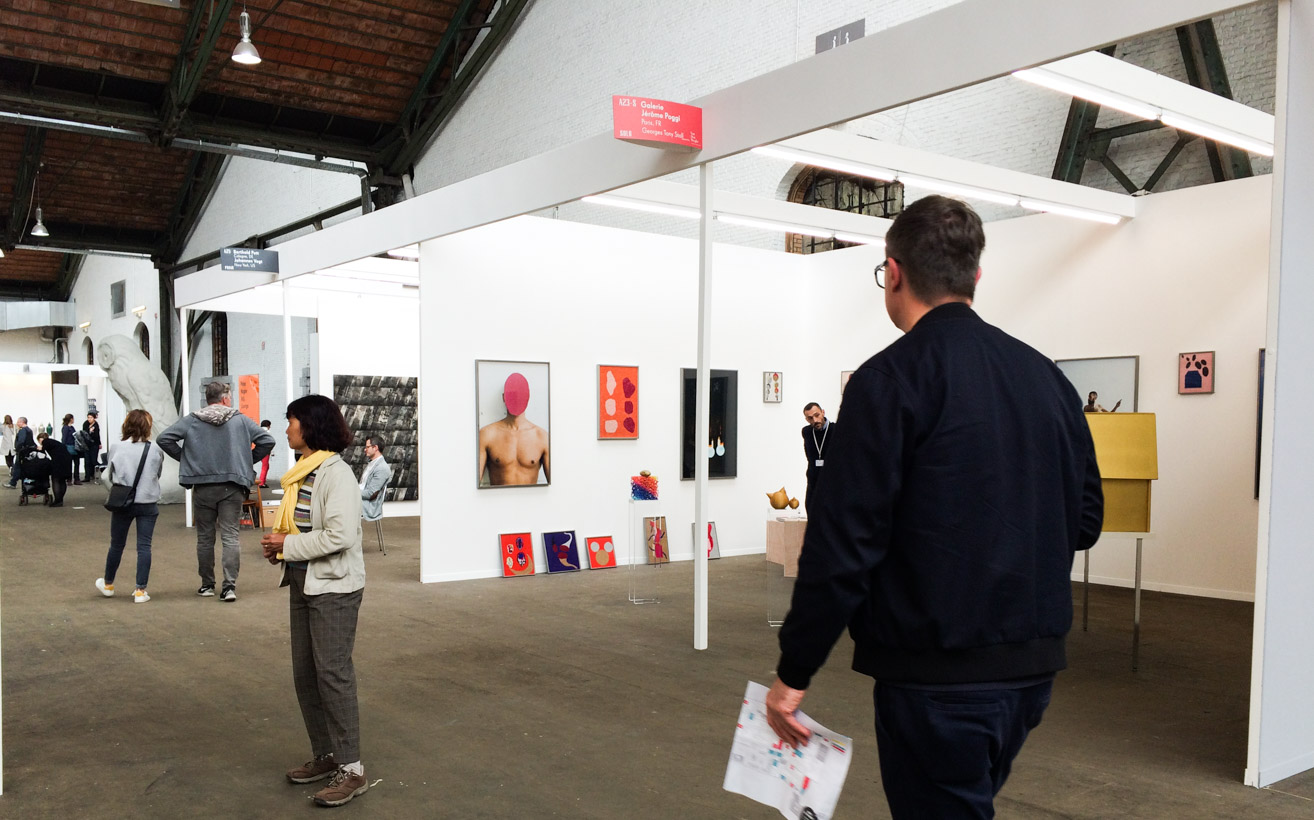Art Brussels 2016: A shift to include more established, international artists