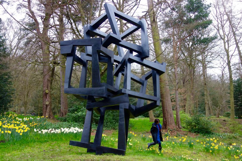Chaos Meteoro formally unveiled at Chatsworth House