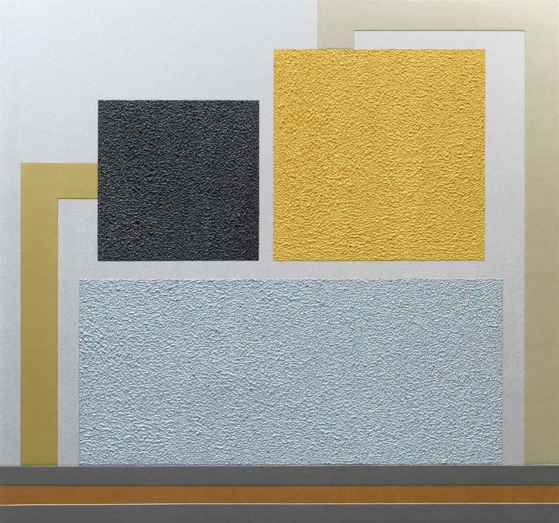 Art Brussel Profile III: Artist Peter Halley's Metallic Paintings