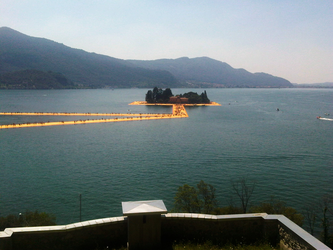 Our journey to Christo's latest installation in Italy