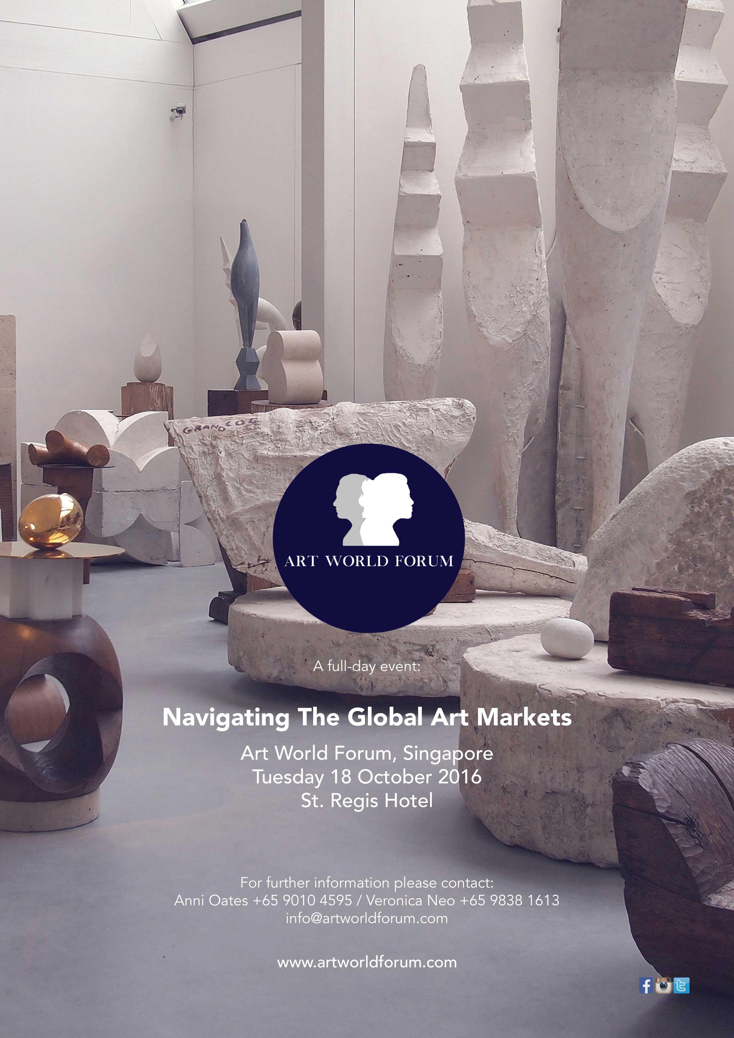 Art World Forum - Navigating the Global Art Markets