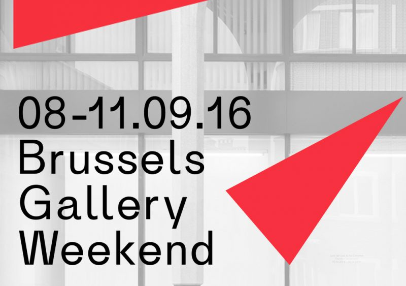 Brussels Gallery Weekend – Sept 2016