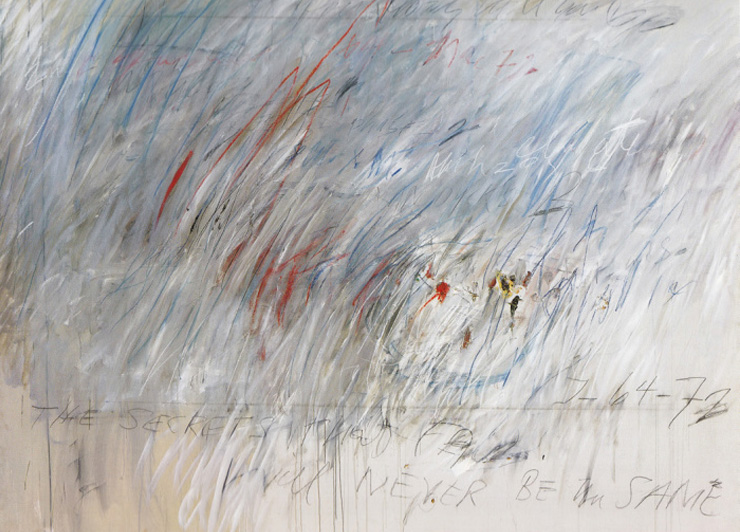 In Praise of Cy Twombly