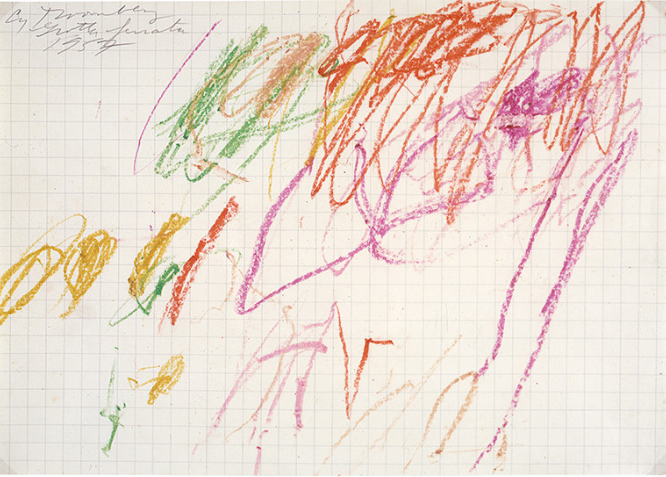 Untitled' (Grottaferrata) 1957 © Cy Twombly Foundation