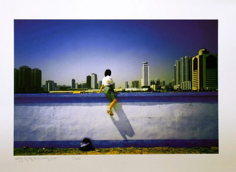 Sitting on the Wall – Guangzhou 3